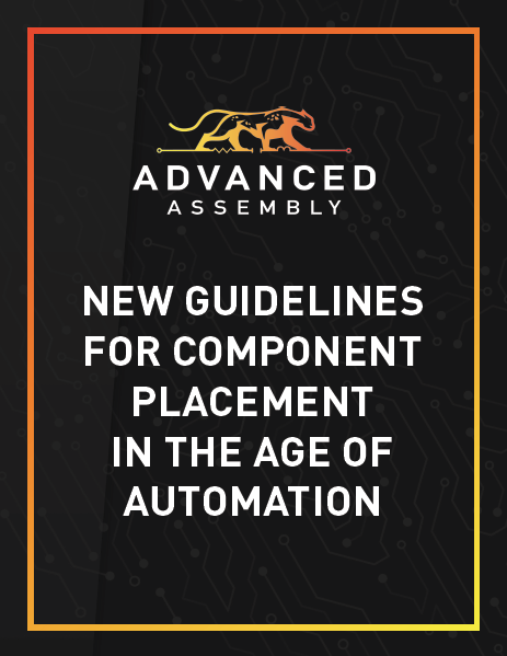 New Guidelines for Component Placement in the Age of Automation