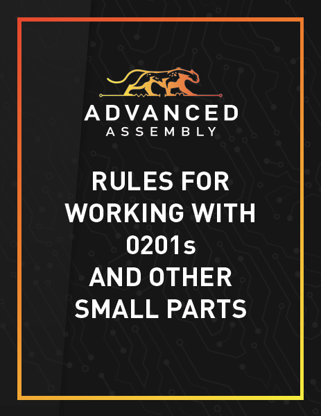 Rules for Working with 0201s